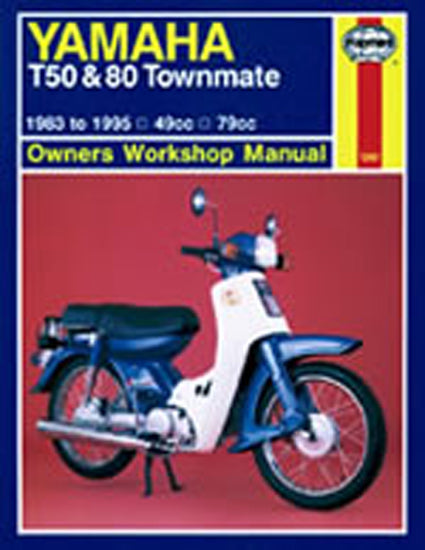 HAYNES 1247 YAMAHA T50 & 80 TOWNMATE 83-95 MANUAL new