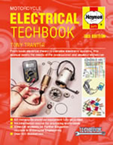 HAYNES 3471 MOTORCYCLE ELECTRICAL TECHBOOK 3rd EDITION new