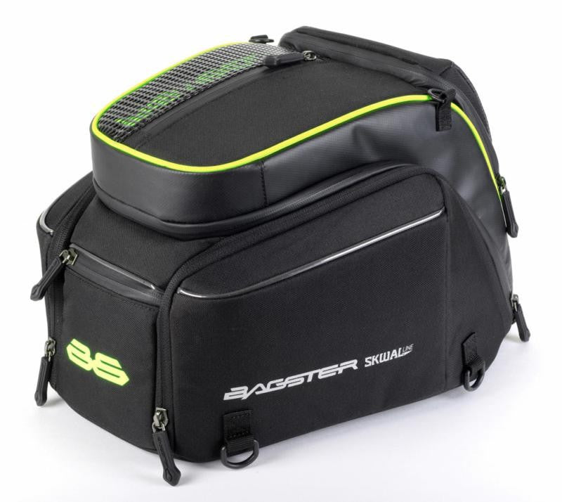 Bagster Motorcycle Transformer Tail Seat Bag - 14-18 Litres + Rain Cover - Bagster -  - MSG BIKE GEAR - 1