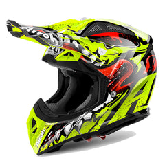 Airoh Aviator 2.2 MX Helmet - Grim Yellow