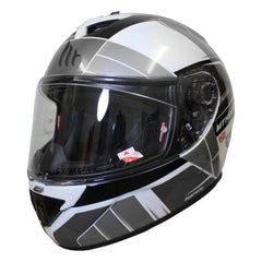 MT Rapide Global Helmet - White / Grey / Black