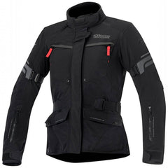 Alpinestars Valparaiso 2 Drystar Waterproof Motorcycle Jacket Black/Grey/Red - Alpinestars -  - MSG BIKE GEAR - 1