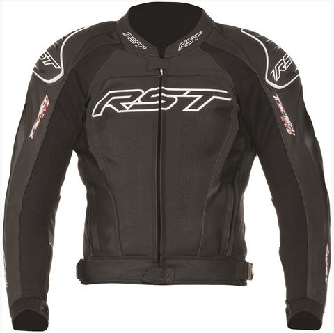 RST TRACTECH EVO II / 2 1425 LEATHER MOTORCYCLE BIKE JACKET BLACK - RST -  - MSG BIKE GEAR