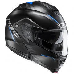 HJC IS-MAX 2 Dova Flip Front Helmet - Blue MC2SF