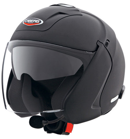 CABERG DOWNTOWN S BT MATT BLACK FLIP FRONT MOTORCYCLE HELMET - Caberg -  - MSG BIKE GEAR