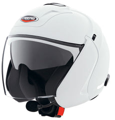 CABERG DOWNTOWN S BT WHITE OPEN FACE MOTORCYCLE HELMET [C64A5201] - Caberg -  - MSG BIKE GEAR