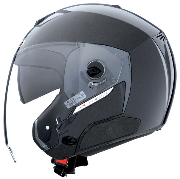 CABERG JET SINTESI METAL BLACK OPEN FACE MOTORCYCLE HELMET * - Caberg -  - MSG BIKE GEAR