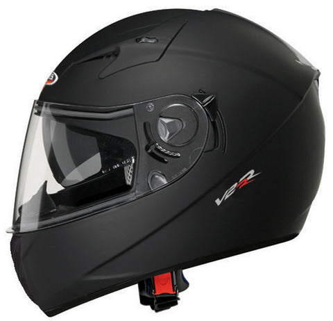 CABERG V2RR MATT BLACK FULL FACE DVS MOTORCYCLE HELMET* - Caberg -  - MSG BIKE GEAR