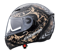 CABERG V2RR ROAD PIRAT BLACK/BRONZE FULL FACE DVS MOTORCYCLE HELMET SALE* - Caberg -  - MSG BIKE GEAR