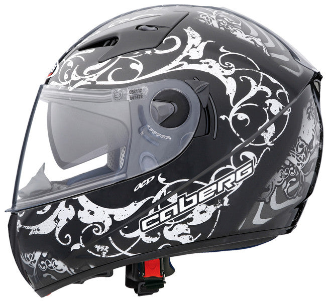 CABERG V2RR ROAD PIRAT BLACK/SILVER FULL FACE SPORT MOTORCYCLE HELMET SALE - Caberg -  - MSG BIKE GEAR