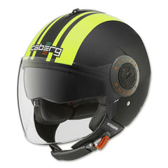 CABERG RIVIERA V2+ PURE HI-VIZION OPEN FACE MOTORCYCLE HELMET - Caberg -  - MSG BIKE GEAR