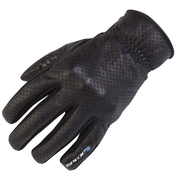 SPADA FORTY4 TEXTILE ROAD MOTORBIKE MOTORCYCLE DRIVER GLOVES BLACK - Spada -  - MSG BIKE GEAR