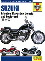 HAYNES 2618 SUZUKI INTRUDER/MARAUDER/VOLUSIA & BOULEVARD 85-06 new