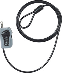 ABUS MOTORCYCLE SECURITY COMBILOOP 205 COIL LOCK BLACK 5mm/200cm [52523 0] - Abus -  - MSG BIKE GEAR