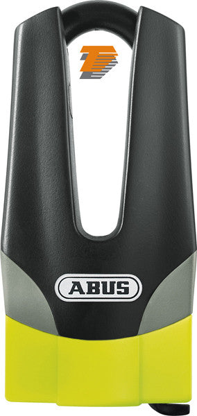 ABUS MOTORCYCLE SECURITY GRANIT QUICK 37/60 MAXI YELL DISC LOCK 70/11mm - Abus -  - MSG BIKE GEAR