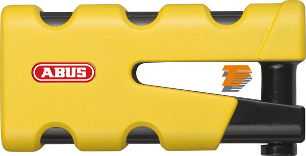 ABUS MOTORCYCLE SECURITY GRANIT SLEDG 77 GRIP YELLOW DISC LOCK 13/45mm - Abus -  - MSG BIKE GEAR