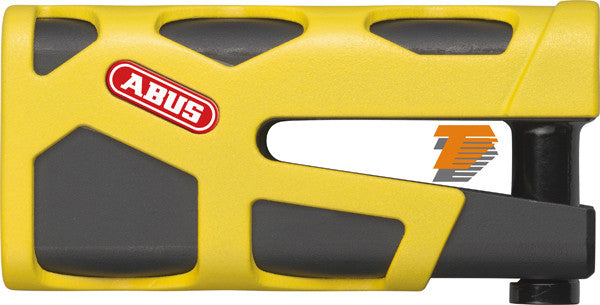 ABUS GRANIT SLEDG 77 WEB YELLOW DISC LOCK 13/45mm [48736 1] - Abus -  - MSG BIKE GEAR