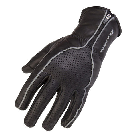 SPADA TWENTY6 ZIPPY MOTORCYCLE MOTORBIKE GLOVES BLACK LADIES - Spada -  - MSG BIKE GEAR