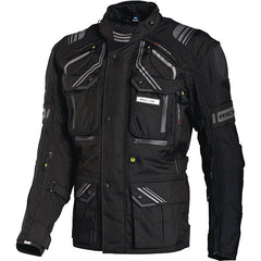Richa Touareg Waterproof Textile Motorcycle Jacket.Black - Richa -  - MSG BIKE GEAR - 1