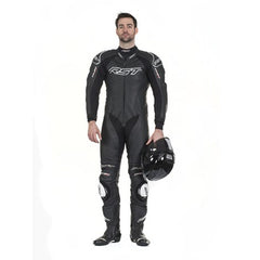 RST TRACTECH EVO II 1415 LEATHER SPORTS TRACK MOTORCYCLE SUIT BLACK - RST -  - MSG BIKE GEAR - 1