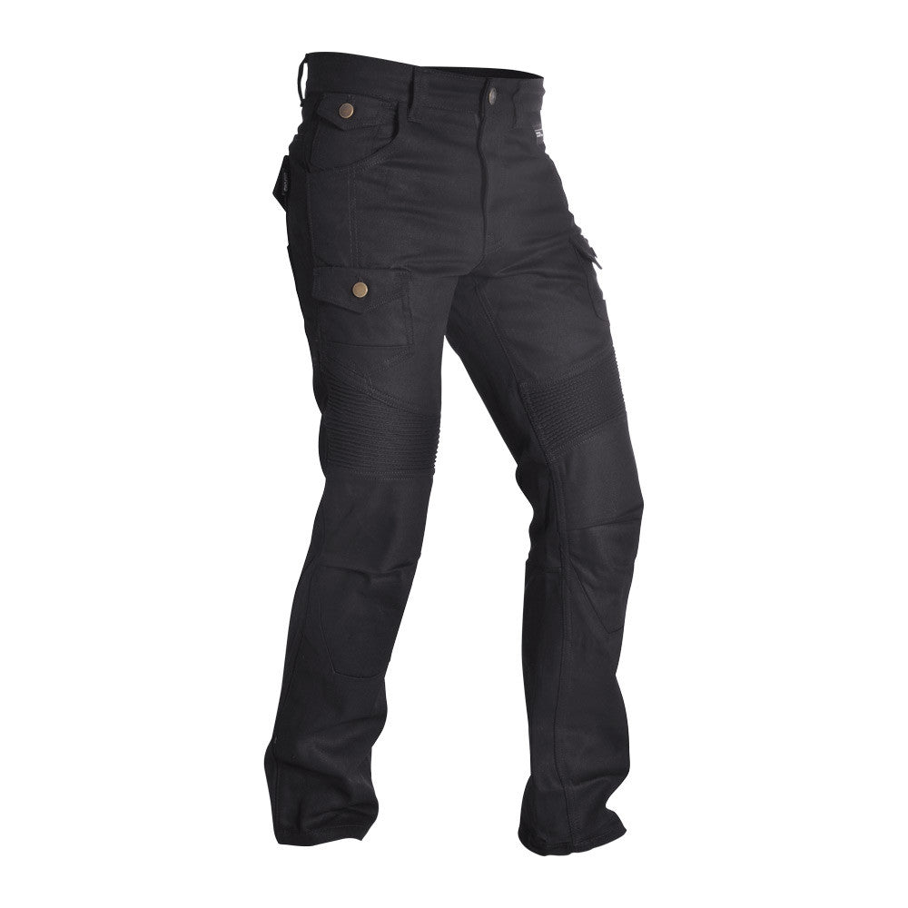 Oxford SP-J4 Textile Cargo ARAMID Motorbike Motorcycle Jeans - Black Reg - Oxford -  - MSG BIKE GEAR - 1