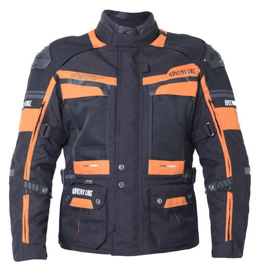 RST Pro Series Adventure III Textile Jacket - Black / Orange