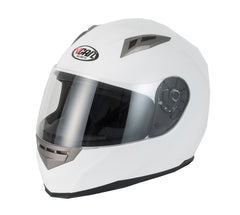 Vcan V158 Full Face Helmet - Gloss White