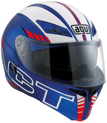 AGV Compact ST Seattle Flip Up Helmet - Blue / White / Red - SALE