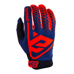 ANSWER GLOVES AR 1 KIDS YOUTH 2019 BRIGHT RED MIDNIGHT