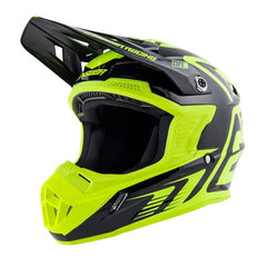 ANSWER HELMET AR1 EDGE 2019 BLACK HYPER ACID MOTOCROSS