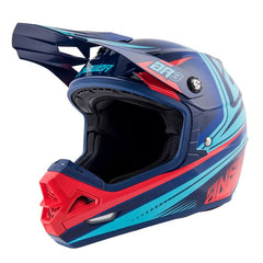 ANSWER HELMET AR3 CHARGE 2019 GLOSS INDIGO BRIGHT RED MOTOCROSS