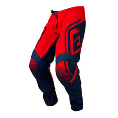 ANSWER MOTOCROSS PANT SYNCRON DRIFT KID YOUTH 2019 BRIGHT RED MIDNIGHT