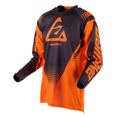 ANSWER SHIRT SYNCRON DRIFT KID YOUTH 2019 FLO ORANGE CHARCOAL MOTOCROSS