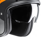 HJC FG-70S Modik Open Face Helmet - Orange/Black MC7F