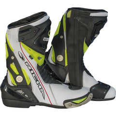 Richa Blade Waterproof Boots - White/Black/Fluo