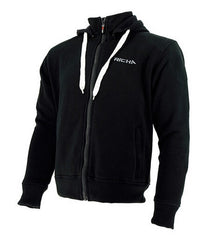 Richa Titan Motorcycle Hoodie + CE Armour Black - Richa -  - MSG BIKE GEAR - 1