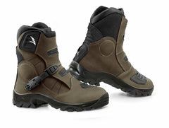 FALCO VOLT LEATHER SHORT OFF ROAD ATV MOTORBIKE MOTORCYCLE BOOTS - Falco -  - MSG BIKE GEAR