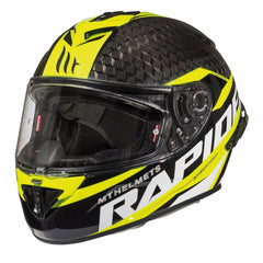 MT Rapide Pro Carbon Helmet - Carbon / Flu Yellow