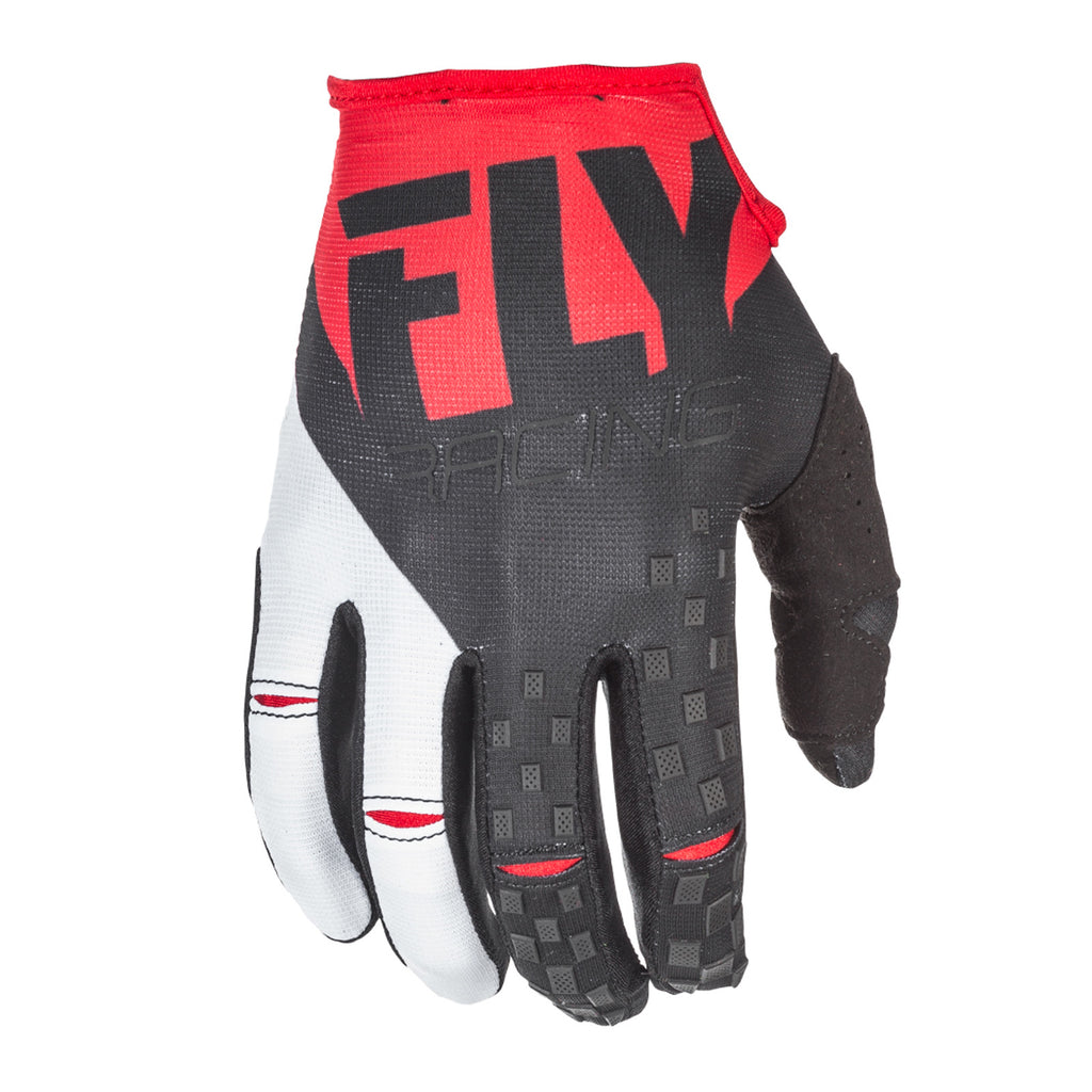 Fly Racing 2018 Kinetic MX Gloves - Red / Black