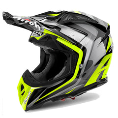 Airoh Aviator 2.2 MX Helmet - Warning Yellow