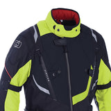 Oxford Montreal 3.0 Waterproof Textile Jacket - Black / Fluo