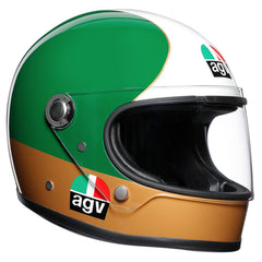 AGV X3000 Retro Racing Full Face Helmet - Agostini 01 Replica