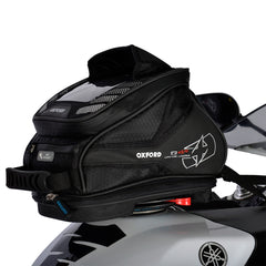 Oxford Q4R Quick Release Motorbike Motorcycle Tank Bag - Black 4 Litres - Oxford -  - MSG BIKE GEAR - 1