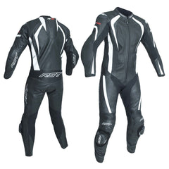 RST 2068 R-18 CE Approved One Piece Leather Suit - White