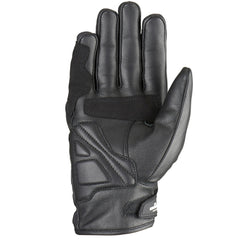 Furygan TD21 Leather Waterproof CE Gloves - Black