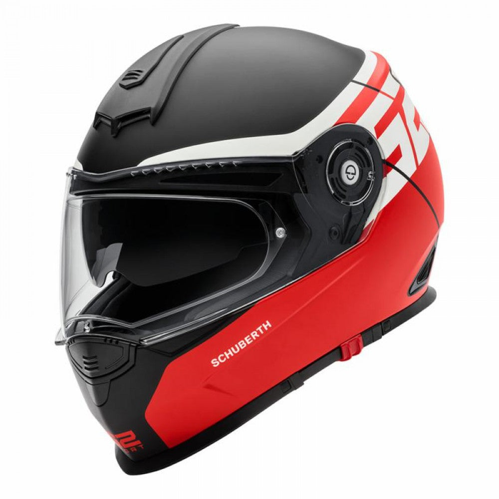 Schuberth S2 DVS Sports Full Face Motorbike Motorcycle Helmet - Rush Red - Schuberth -  - MSG BIKE GEAR - 1