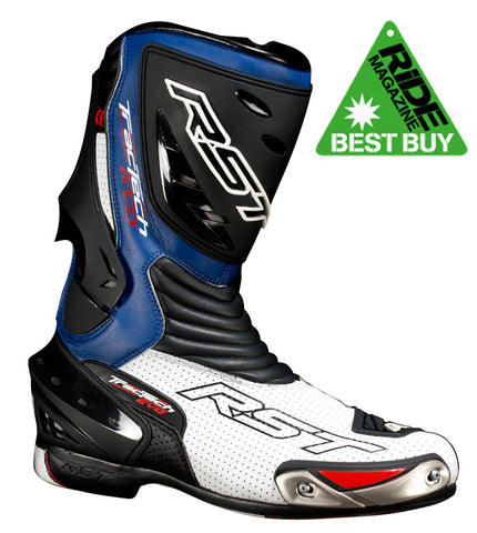RST TRACTECH EVO CE 1516 MOTORCYCLE BOOT BLUE - RST -  - MSG BIKE GEAR - 1