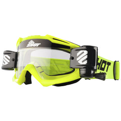 "Shot 2018 ""Assault Roll-Off"" Goggles - Neon Yellow"