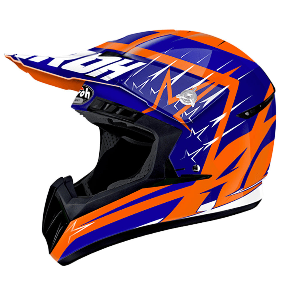 Airoh Switch MX Helmet - Startruck Blue