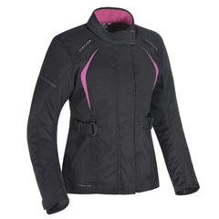 Oxford Dakota 2.0 Ladies Textile Jacket - Black / Pink